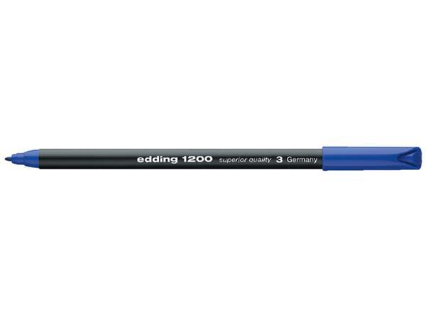 FINELINER EDDING 1200 0.5-1MM BLAUW