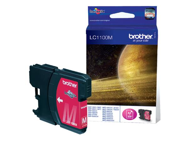 INKCARTRIDGE BROTHER LC-1100 ROOD