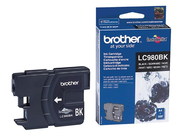INKCARTRIDGE BROTHER LC-980 ZWART