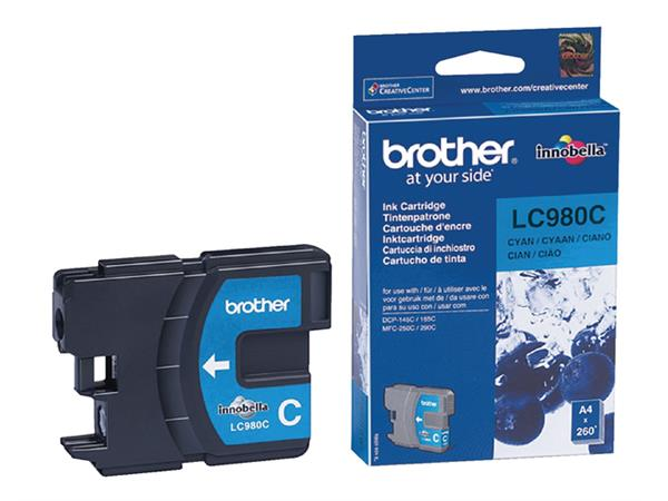 INKCARTRIDGE BROTHER LC-980 BLAUW
