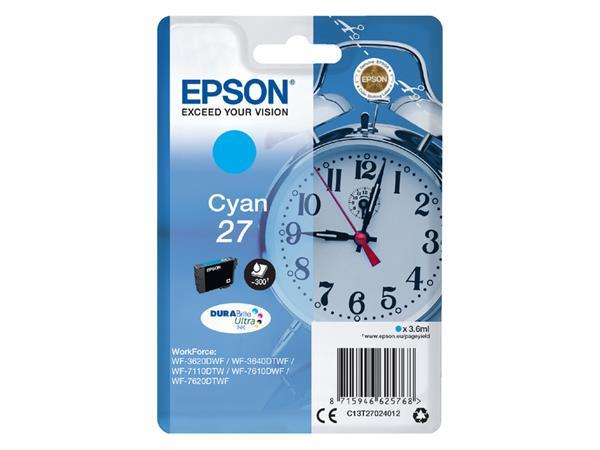 Inkcartridge Epson 27 T2702 blauw