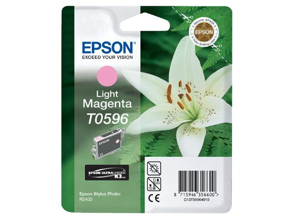 INKCARTRIDGE EPSON T059640 LICHT ROOD