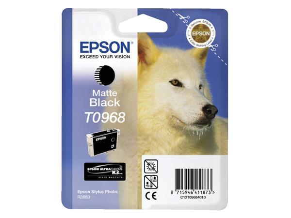 INKCARTRIDGE EPSON T096840 MAT ZWART