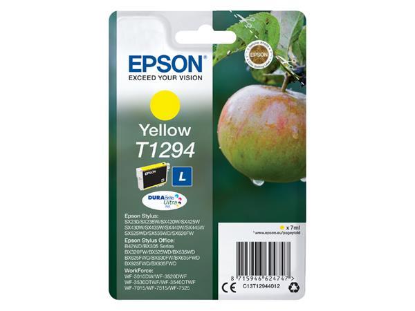 Inkcartridge Epson T1294 geel