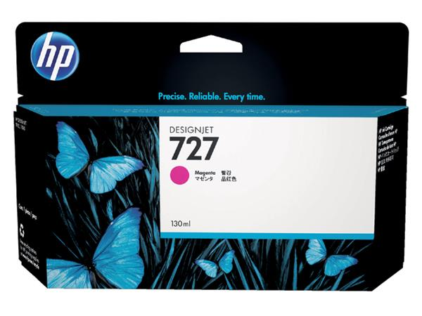 Inkcartridge HP B3P20A 727 rood HC