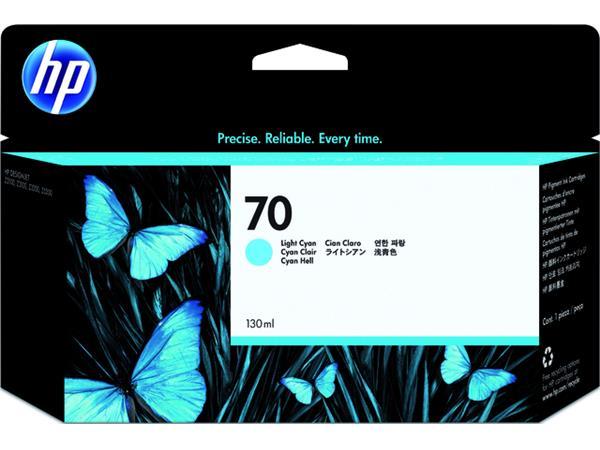 Inkcartridge HP C9390A 70 lichtblauw