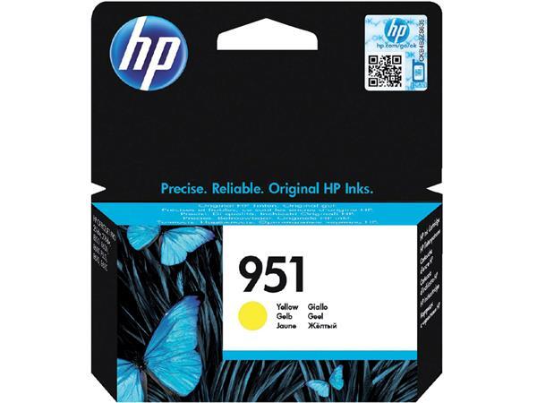 Inkcartridge HP CN052AE 951 geel