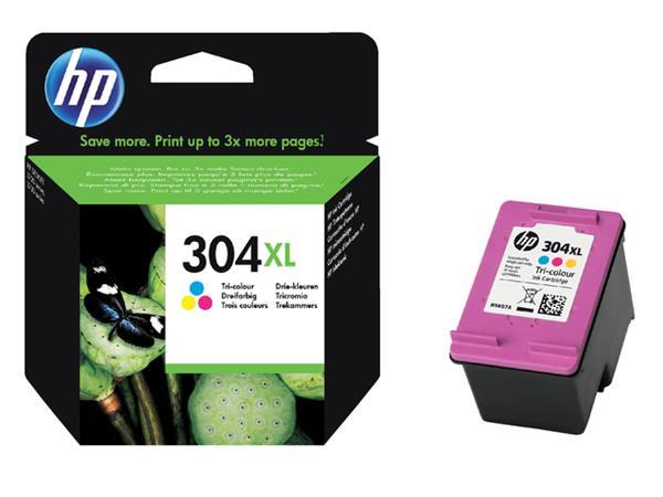 Inkcartridge HP N9K07AE 304XL kleur