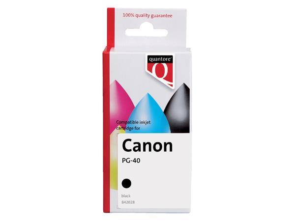 Inkcartridge Quantore Canon PG-40 zwart