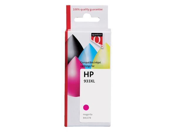 INKCARTRIDGE QUANTORE HP 933XL CN055AE HC ROOD