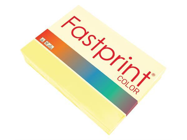 Kopieerpapier Fastprint A4 160gr geel 250vel