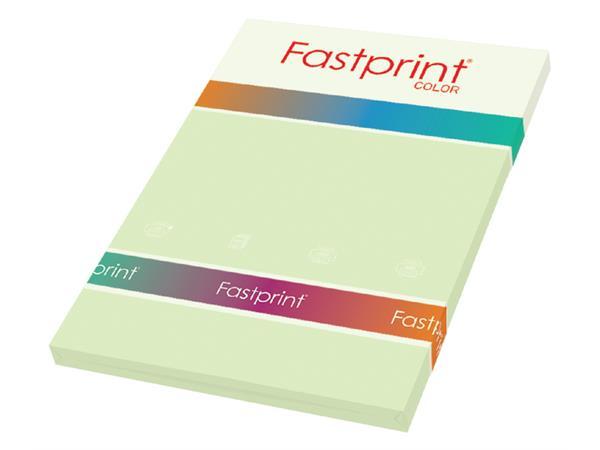Kopieerpapier Fastprint A4 160gr lichtgroen 50vel
