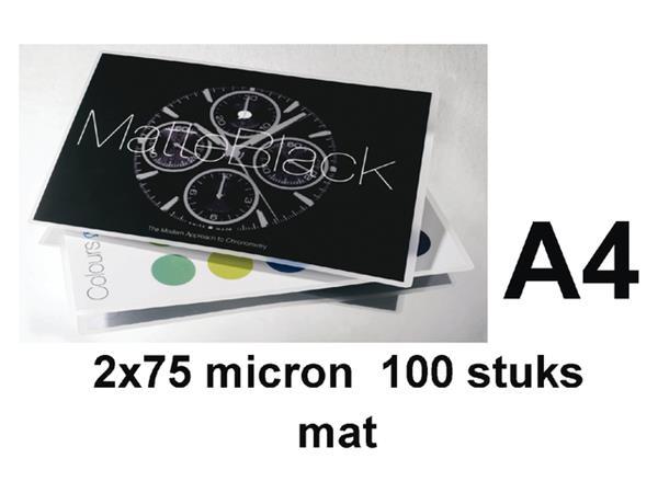 LAMINEERHOES GBC A4 2X75MICRON MAT
