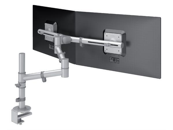 En Ligne Support Ecran Dataflex Viewgo 132 Avec Pince Bureau Gris