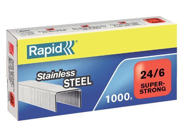 NIETEN RAPID 24/6 RVS SUPER STRONG 1000ST