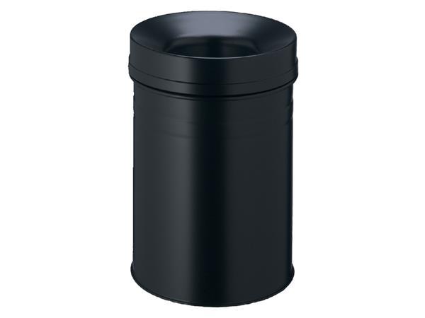 Papierbak met vlamdover Durable 3325-01 15liter zwart
