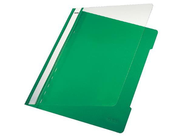 Snelhechter Leitz 4191 A4 PVC groen