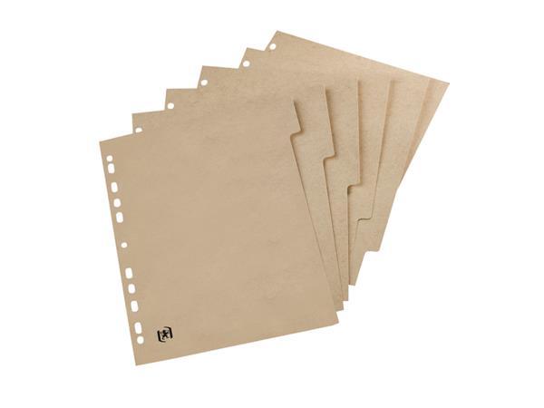 Tabbladen Touareg 11-gaats 5-delig naturel karton
