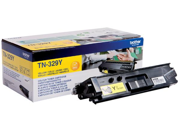 TONER BROTHER TN-329 6K GEEL