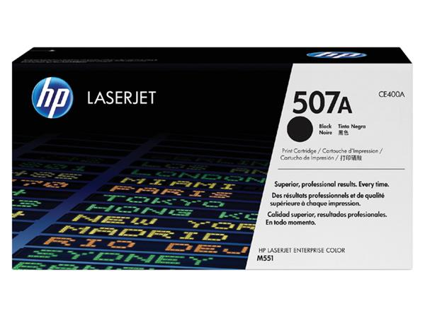 TONERCARTRIDGE HP 507A CE400A 5.5K ZWART