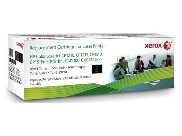 TONERCARTRIDGE XEROX HP CB540A 2.2K ZWART