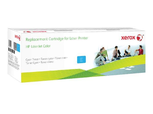 TONERCARTRIDGE XEROX HP CF381A 3.2K BLAUW