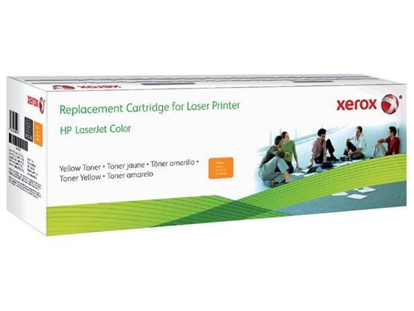 TONERCARTRIDGE XEROX HP CF402A 1.4K GEEL