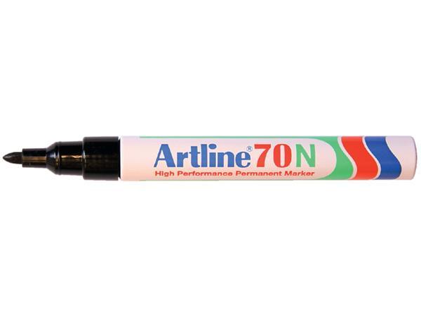 VILTSTIFT ARTLINE 70 ROND 1.5MM ZWART