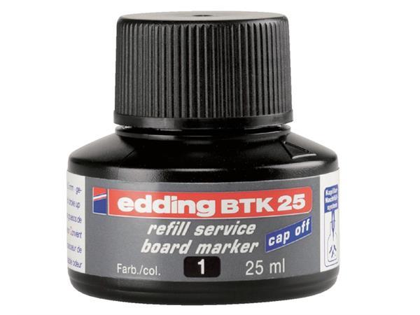 Viltstiftinkt edding BTK25 voor whiteboard zwart