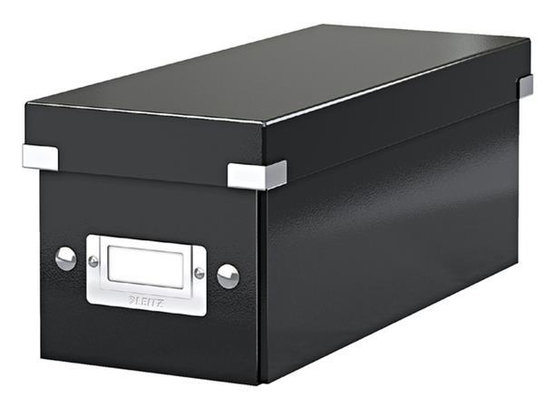 Cd box Leitz WOW Click & Store 43x136x325mm zwart