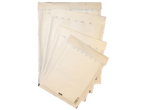 Envelop Quantore luchtkussen nr17 250x350mm wit 5stuks