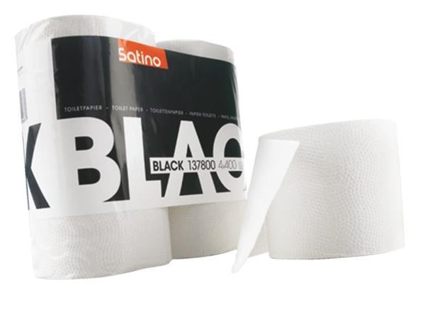 Toiletpapier BlackSatino 2-laags 400vel