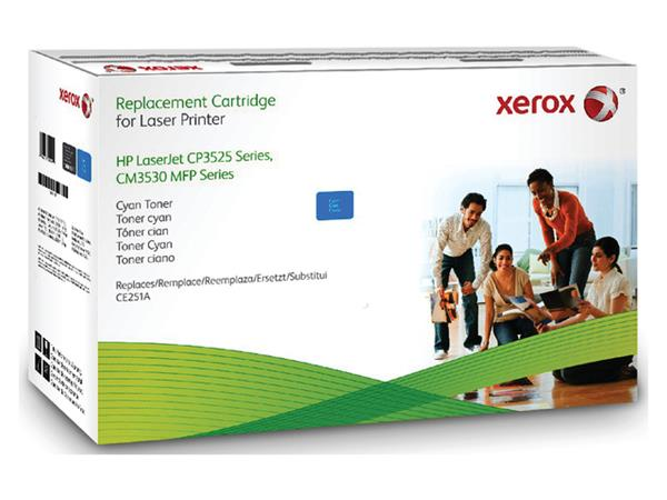 Tonercartridge Xerox 106R01584 HP CE251A 504A blauw