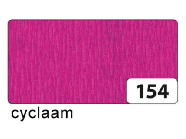 CREPEPAPIER FOLIA 250X50CM NR 154 CYCLAAM