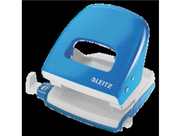 Perforator Leitz NeXXt 5008 2-gaats 30vel lichtblauw