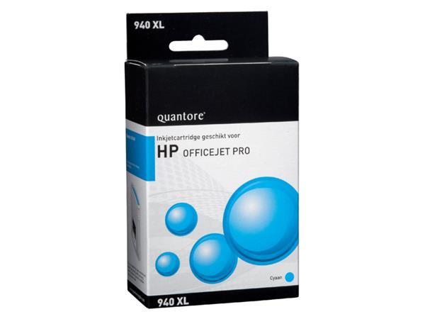 Inktcartridge Quantore HP C4907AE 940XL blauw