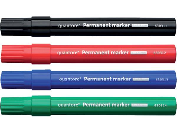 Permanent marker Quantore rond 1-1.5mm blauw