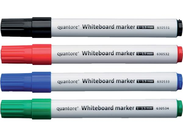 Whiteboardstift Quantore rond 1-1.5mm rood