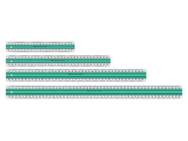 Liniaal Linex super S50 500mm transparant