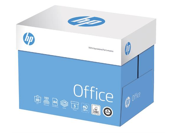 Kopieerpapier HP Office A4 80gr wit 500vel