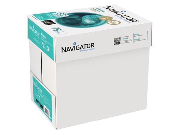 Kopieerpapier Navigator Advanced A4 75gr wit 500vel