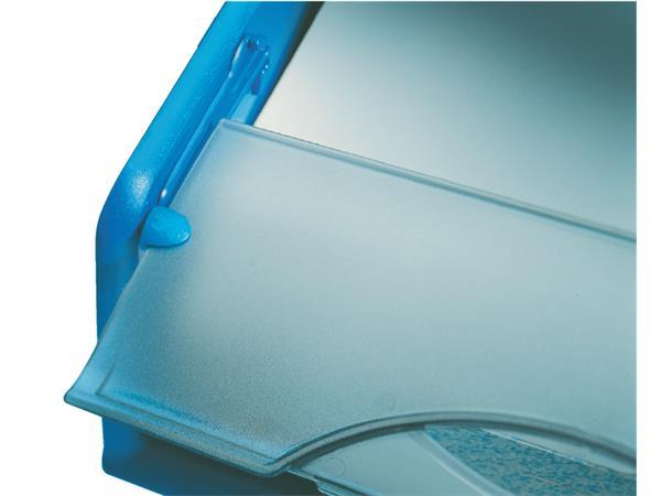 Sorteerbak Leitz 5231 Sorty met klep blauw