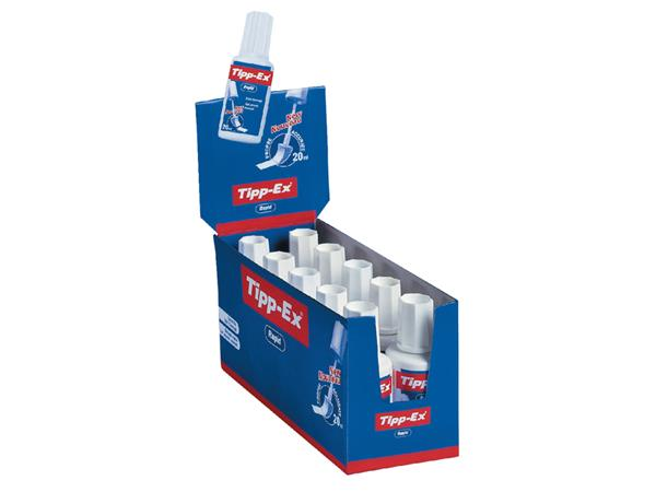 Correctievloeistof Tipp-ex Rapid 20ml foam