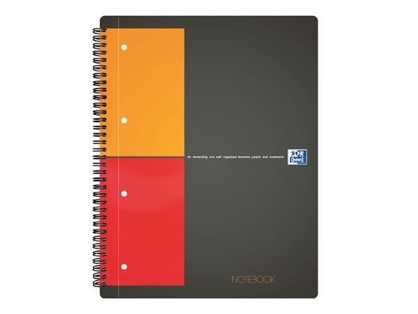 Spiraalblok Oxford International Notebook A5+ ruit 5mm