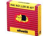 81129 OLIVETTI INK ROLL 710 (2) BLK black