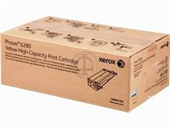 106R1394 XEROX PH6280 TONER YELLOW HC 5900pages high capacity