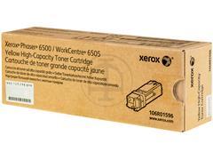 106R1596 XEROX PH6500 TONER YELLOW HC 2500pages high capacity