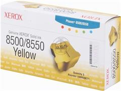 108R671 XEROX PH8500 STIX (3) YELLOW 3000pages