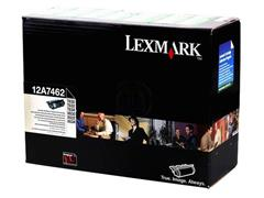 12A7462 LEXMARK T630 CARTRIDGE BLACK HC 21.000pages high capacity return
