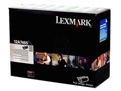 12A7465 LEXMARK T632 CARTRIDGE BLACK HC 32.000pages high capacity return